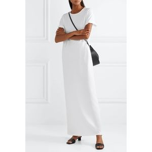 The Row Rory White Cotton-Jersey Maxi Dress